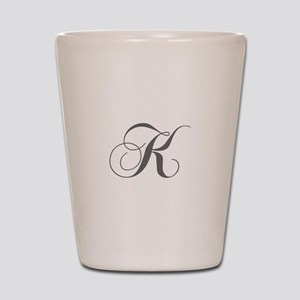 K-cho gray Shot Glass