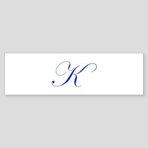 K-edw blue Bumper Sticker
