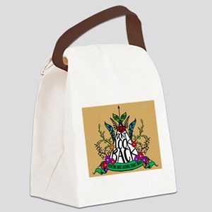 Don't Look Back - You're Not Goin Canvas Lunch Bag