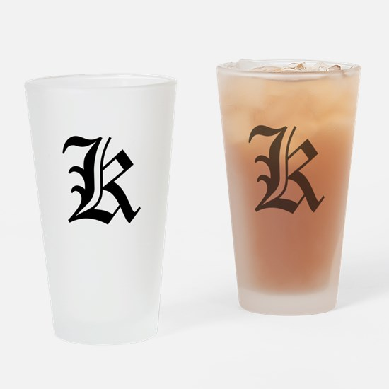K-oet black Drinking Glass