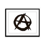 Anarchy Framed Panel Print