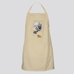 Cat Catching Mouse Apron