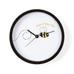 2nd Bee Loop Wall Clock