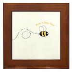 2nd Bee Loop Framed Tile