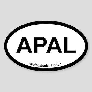 Apalachicola Sticker