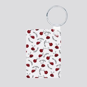 Little Red Ladybugs Keychains