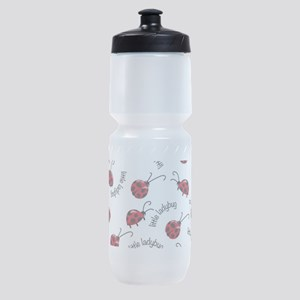 Little Red Ladybugs Sports Bottle