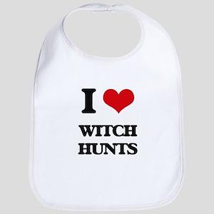 I love Witch Hunts Bib