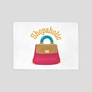 Shopaholic 5'x7'Area Rug