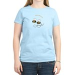 Twin Bees Flying Women's Light T-Shirt