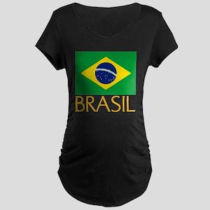 Brasil Maternity Dark T-Shirt