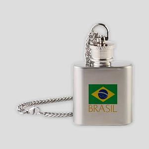 Brasil Flask Necklace