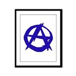 Anarchy Framed Panel Print