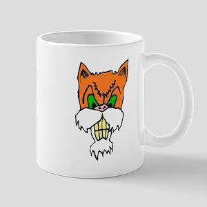 Angry Cat Mugs