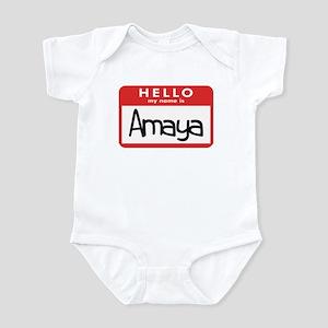 Hello Amaya Infant Bodysuit