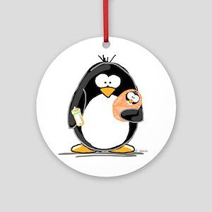 new baby Penguin Ornament (Round)