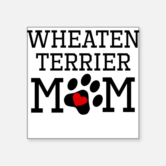 Wheaten Terrier Mom Sticker