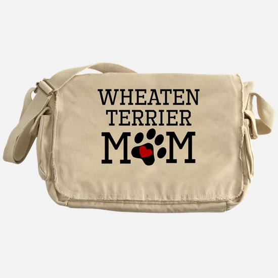 Wheaten Terrier Mom Messenger Bag