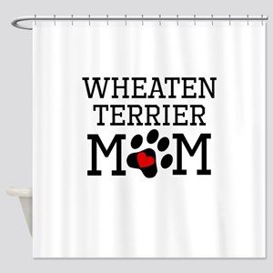 Wheaten Terrier Mom Shower Curtain