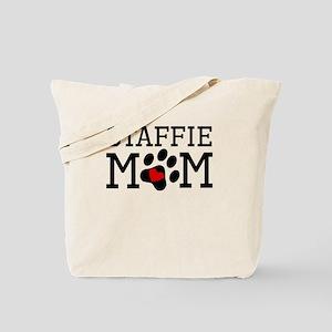 Staffie Mom Tote Bag
