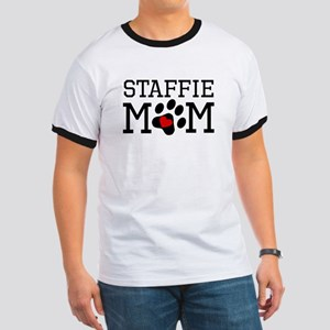 Staffie Mom T-Shirt