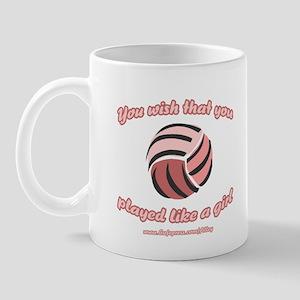Volley Girl Mug