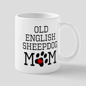 Old English Sheepdog Mom Mugs