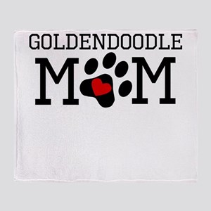 Goldendoodle Mom Throw Blanket