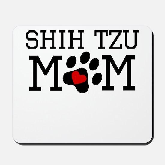 Shih Tzu Mom Mousepad