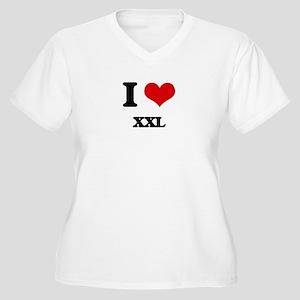 I love Xxl Plus Size T-Shirt