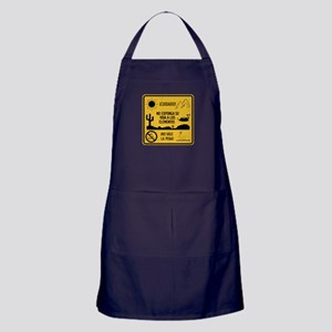 Don't Expose Your Life, Mexico Apron (dark)