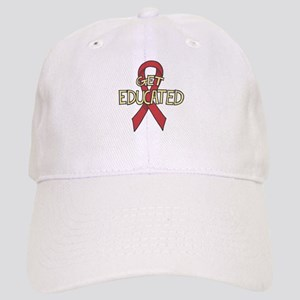 AIDS: Get Educated Cap