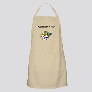 Custom Butterfly And Paint Apron