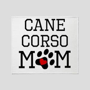 Cane Corso Mom Throw Blanket