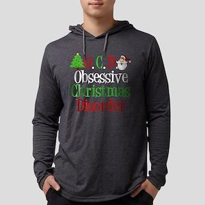 Obsessive Christmas Disorder Mens Hooded Shirt