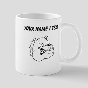 Custom Bulldog Mugs
