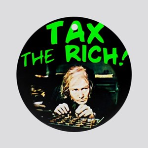 Tax the Ornament (Round)