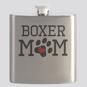 Boxer Mom Flask