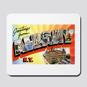 Albany New York Greetings Mousepad