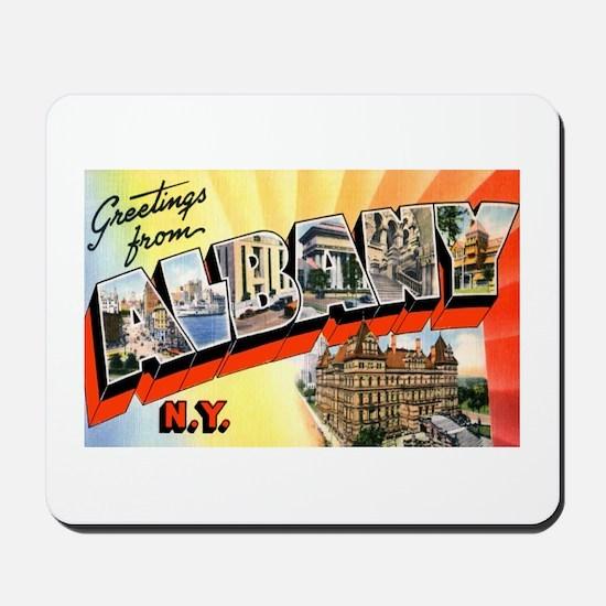 Albany New York Greetings Mousepad