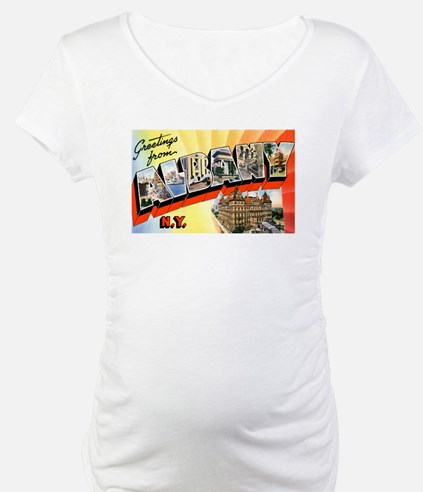 Albany New York Greetings (Front) Shirt