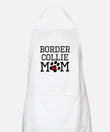 Border Collie Mom Apron