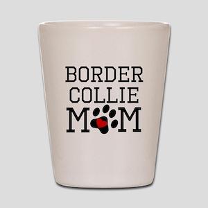 Border Collie Mom Shot Glass