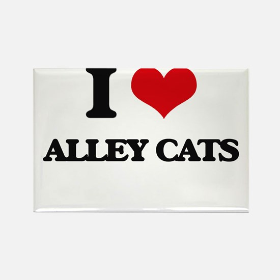 alley cats Magnets