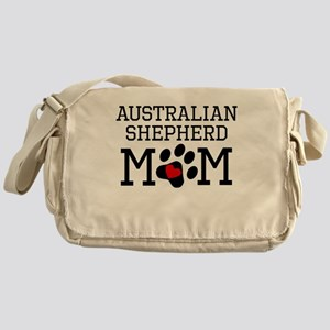 Australian Shepherd Mom Messenger Bag