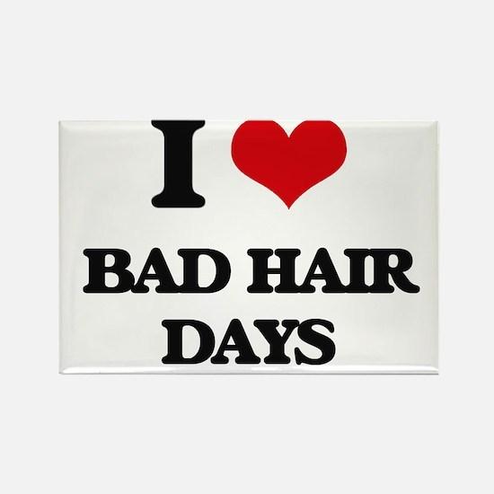 bad hair days Magnets