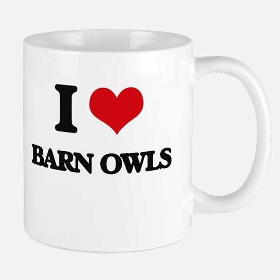 barn owls Mugs