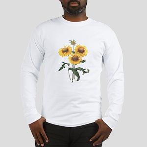 Redoute Sunflowers Long Sleeve T-Shirt