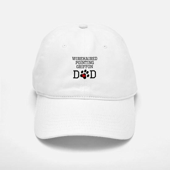 Wirehaired Pointing Griffon Dad Baseball Baseball Baseball Cap