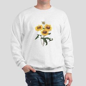 Redoute Sunflowers Sweatshirt